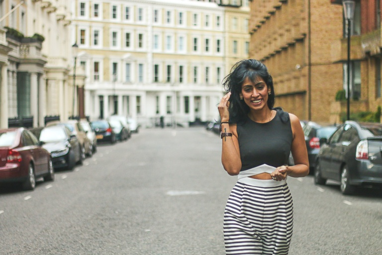 instagram-photographer-specialist-london-kensington-stripes-girl-indian-fashionphotoshoot